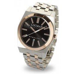 Reloj Locman Hombre Stealth Quartz 02010RBKF5N0BAR