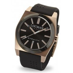 Reloj Locman Hombre Stealth Quartz 0201RGBKF5N0SIK