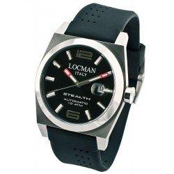 Reloj Locman Hombre Stealth Automático 020500BKFNK0SIK