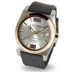 Reloj Locman Hombre Stealth Automático 02050RGYF5N0SIA