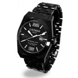Reloj Locman Hombre Stealth Automático 0205BKBKFBL0BRK
