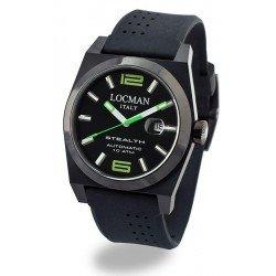 Reloj Locman Hombre Stealth Automático 0205BKBKNGR0GOK