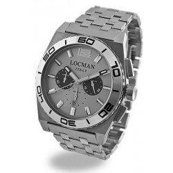 Reloj Locman Hombre Stealth Cronógrafo Quartz 021200AK-AGKBR0