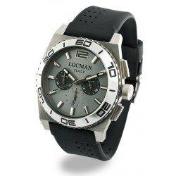 Reloj Locman Hombre Stealth Cronógrafo Quartz 021200AK-AGKSIK
