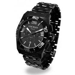 Reloj Locman Hombre Stealth Cronógrafo Quartz 0212BKKA-GYKBRK