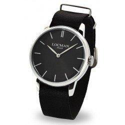 Comprar Reloj Locman Hombre 1960 Quartz 0251V01-00BKNKNK