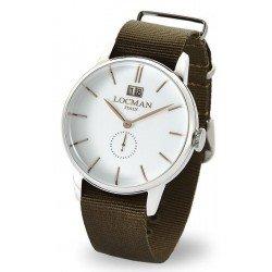 Comprar Reloj Locman Hombre 1960 Gran Data Quartz 0252V08-00WHRGNG
