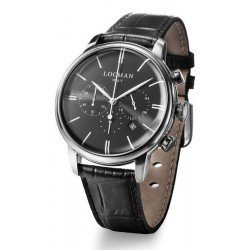 Comprar Reloj Locman Hombre 1960 Cronógrafo Quartz 0254A01A-00BKNKPK