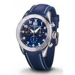 Comprar Reloj Locman Hombre Isola d'Elba Cronógrafo Quartz 0460A02-00BLWHPB