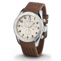 Comprar Reloj Locman Hombre Isola d'Elba Cronógrafo Quartz 0460A04-00AVBKSN