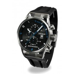 Reloj Locman Hombre Montecristo Cronógrafo Quartz 051000BKFBL0GOK