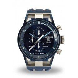 Reloj Locman Hombre Montecristo Cronógrafo Quartz 0510BLBLFWH0SIB