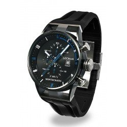 Reloj Locman Hombre Montecristo Cronógrafo Quartz 0510KNBKFBL0GOK