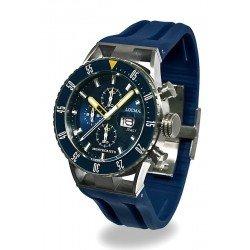 Reloj Locman Hombre Montecristo Professional Diver Cronógrafo 051200BYBLNKSIB