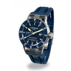 Comprar Reloj Locman Hombre Montecristo Professional Diver Automático 051300BYBLNKSIB