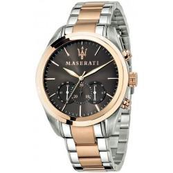 Comprar Reloj Hombre Maserati Traguardo R8873612003 Cronógrafo Quartz