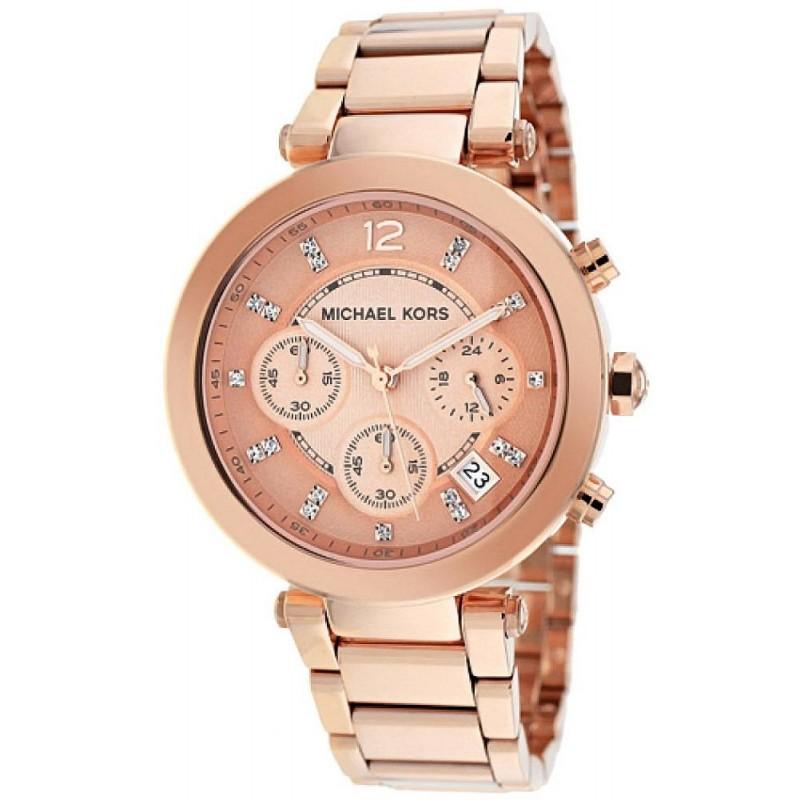 talla 40 1437e 5668d Reloj Michael Kors Mujer Parker MK5277 Cronógrafo