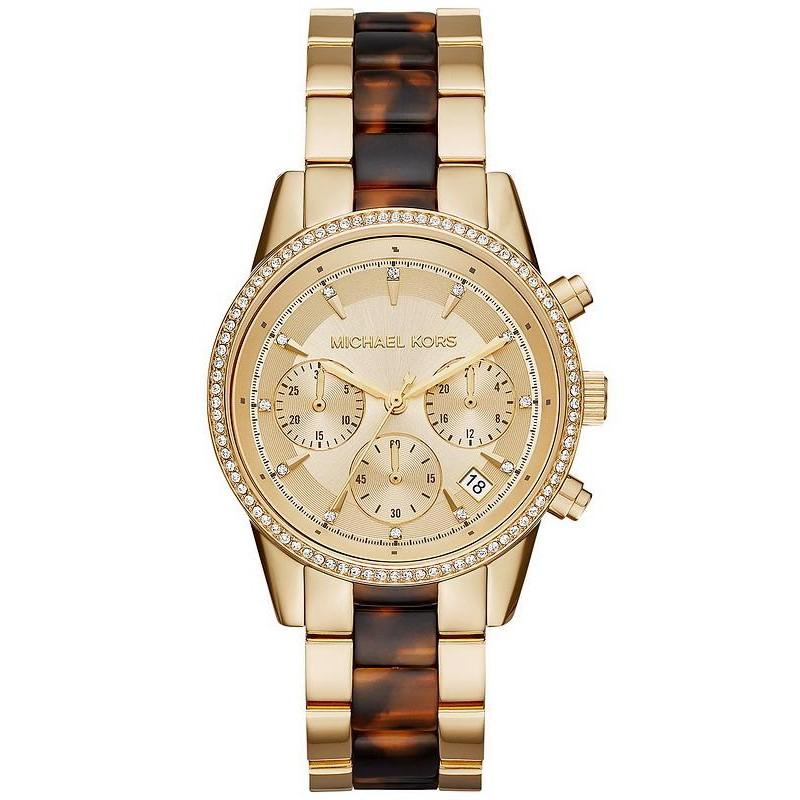 6dbb4424d831 Reloj Michael Kors Mujer Ritz MK6322 Cronógrafo - Joyería de Moda