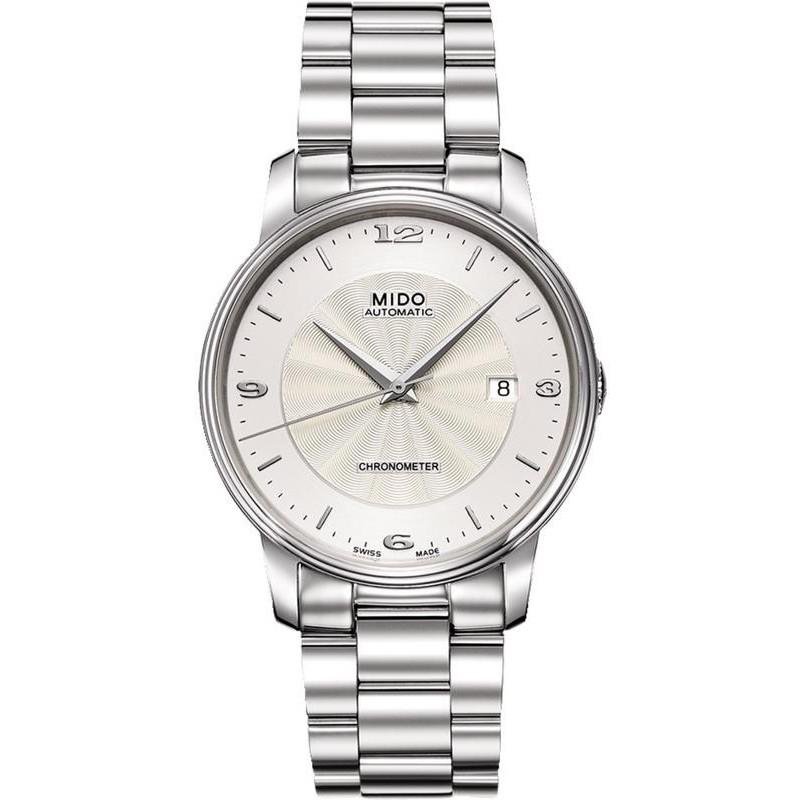 51eb9e512b78 Reloj Mido Hombre Baroncelli III COSC Chronometer Automatic M0104081103700