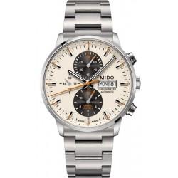 Reloj Mido Hombre Commander II COSC Automatic Chronograph M0164151126100