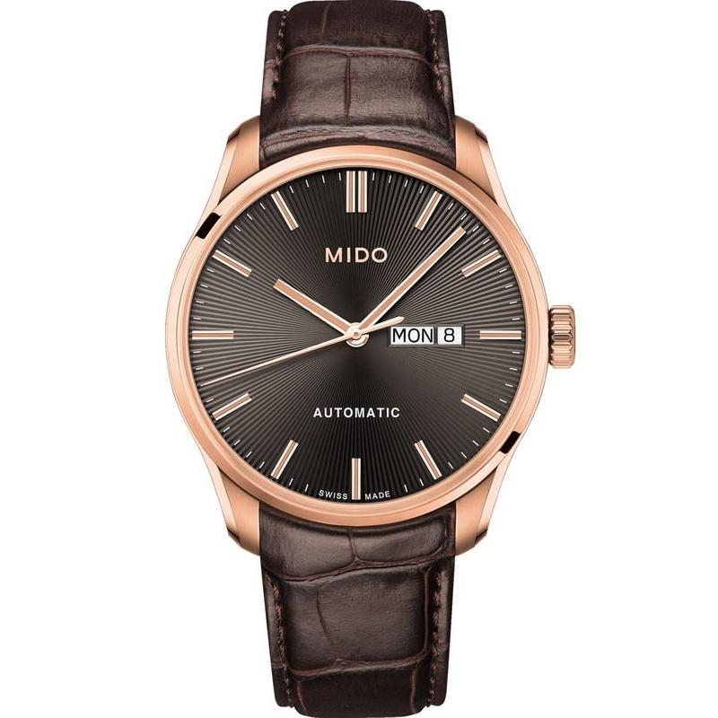 66b8ef9553cc Reloj Mido Hombre Belluna II M0246303606100 Automático - Joyería de Moda
