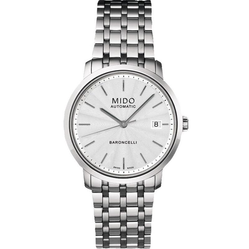 03c98701b5cd Reloj Mido Hombre Baroncelli I M38954111 Automático - Joyería de Moda