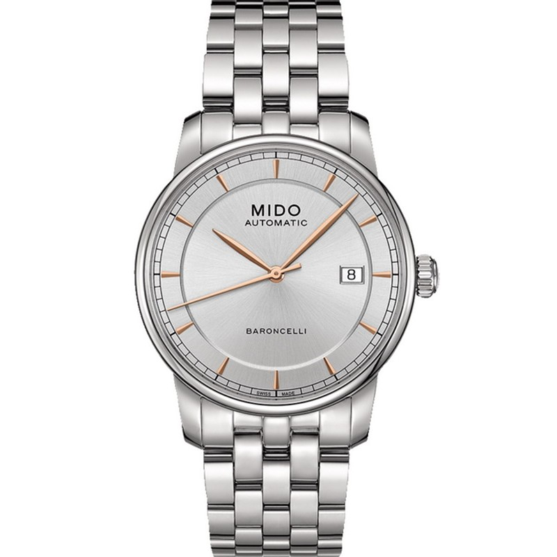 a017f5cb31a2 Reloj Mido Hombre Baroncelli II M86004101 Automático - Joyería de Moda