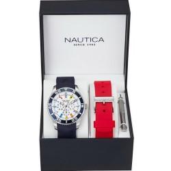Reloj Nautica Hombre NST 07 Flag Box Set Multifunción NAI13502G