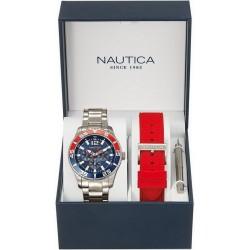 Reloj Nautica Hombre NST 07 Box Set Multifunción NAI16500G
