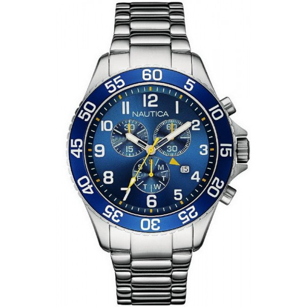 Comprar Reloj Nautica Hombre NST 19 Cronógrafo NAI17508G
