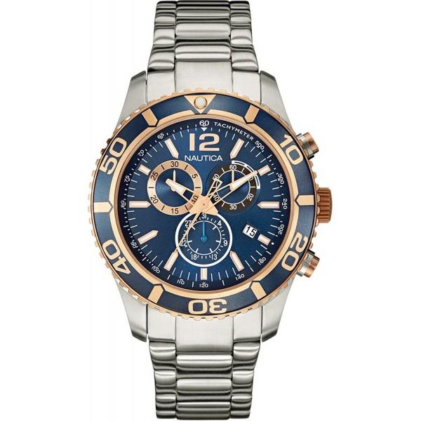 Comprar Reloj Nautica Hombre NST 09 Cronógrafo NAI18500G