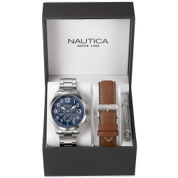 Reloj Nautica Hombre NCC 01 Box Set NAI18509G Cronógrafo
