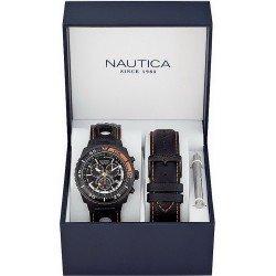 Reloj Nautica Hombre NST 700 Box Set A17636G Cronógrafo