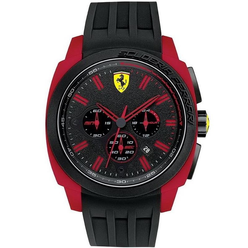 Scuderia Ferrari Men S Watch Aerodinamico Chrono 0830115 New Fashion Jewelry