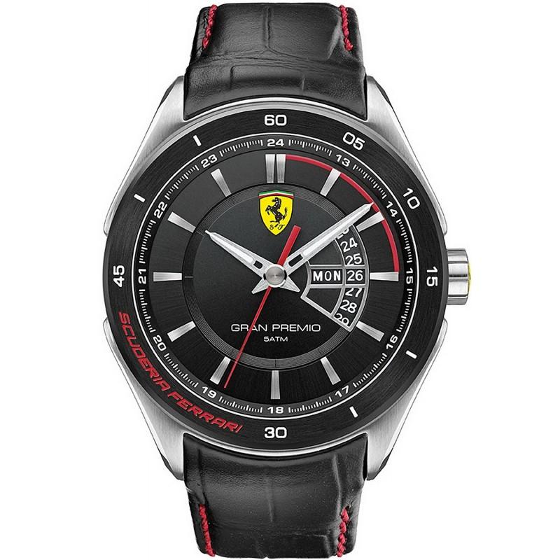 Scuderia Ferrari Men S Watch Gran Premio 0830183 New Fashion Jewelry