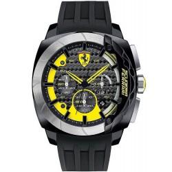 Reloj Scuderia Ferrari Hombre Aerodinamico Chrono 0830206