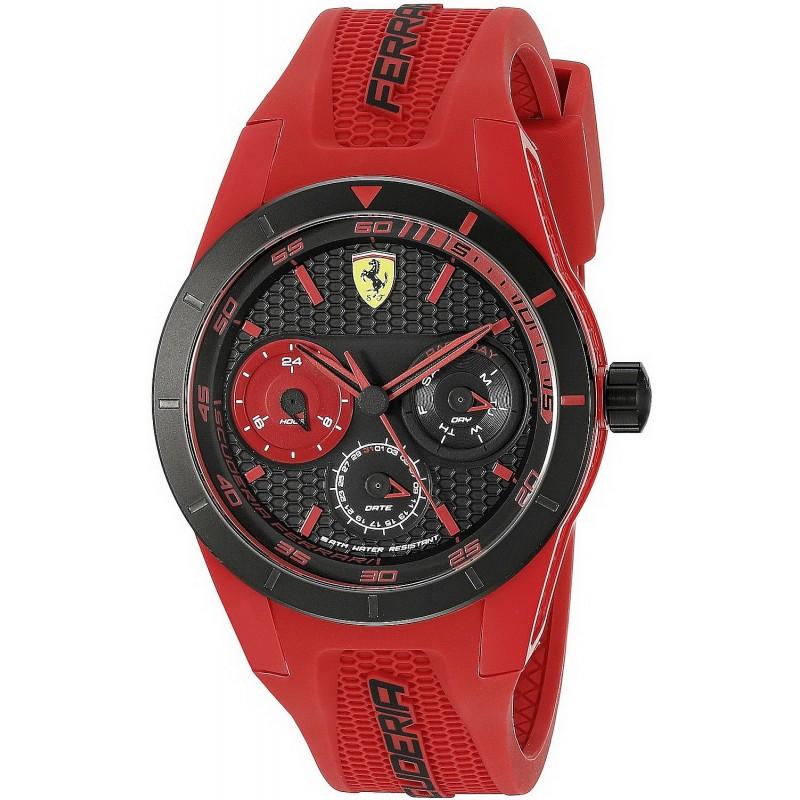 Scuderia Ferrari Men S Watch Red Rev T 0830258 New Fashion Jewelry