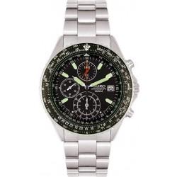 Reloj Seiko Hombre Flightmaster Pilot Chronograph Quartz SND253P1