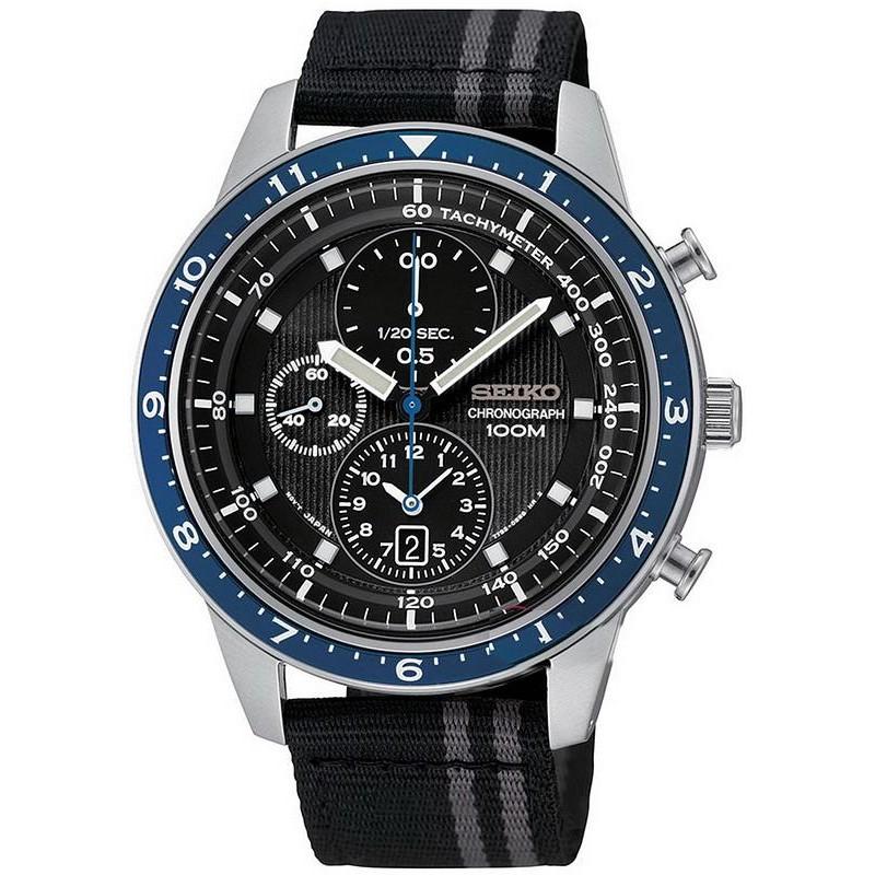 02f4cc7e6868 Reloj Seiko Hombre SNDF47P1 Cronógrafo Quartz - Joyería de Moda
