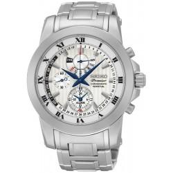Reloj Seiko Hombre Premier Chronograph Perpetual Calendar Alarm SPC159P1