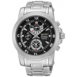 Reloj Seiko Hombre Premier Chronograph Perpetual Calendar Alarm SPC161P1