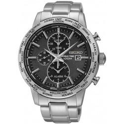 Reloj Seiko Hombre SPL049P1 World Time Cronógrafo Alarm Quartz