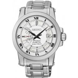 Reloj Seiko Hombre Premier Kinetic Direct Drive SRG007P1 Cronógrafo