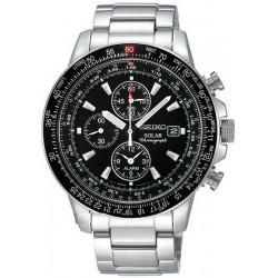 Reloj Seiko Hombre Prospex Sky Chronograph Solar SSC009P1