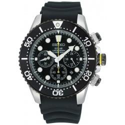 Reloj Seiko Hombre Prospex Chronograph Diver's 200M Solar SSC021P1