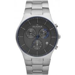 Comprar Reloj Skagen Hombre Balder Titanium Cronógrafo SKW6077