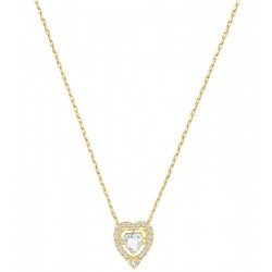 Collar Swarovski Mujer Sparkling Dance Heart 5284190
