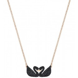Collar Swarovski Mujer Iconic Swan Double 5296468