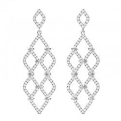 Pendientes Swarovski Mujer Chandelier Lace 5382358