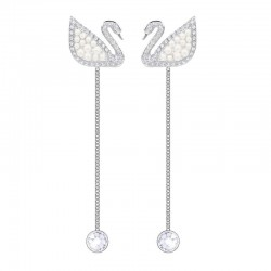 Pendientes Swarovski Mujer Iconic Swan 5429270